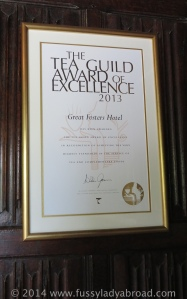 tea guild award