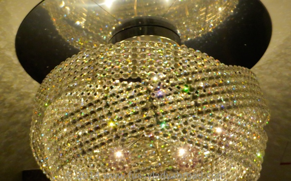 chandelier ritz carlton vienna