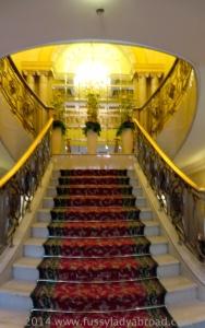 staircase grandhotel vienna