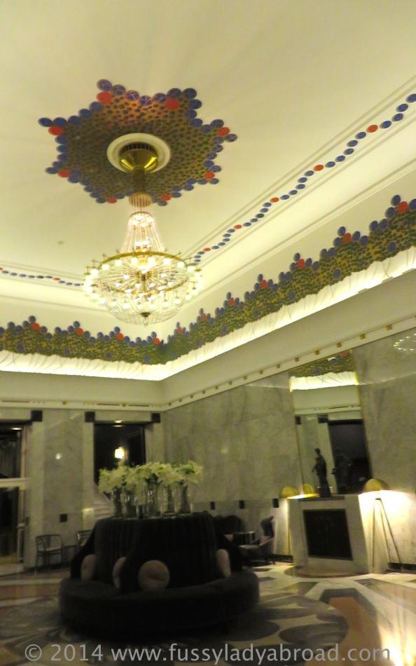 art deco ceiling column bar bristol warsaw